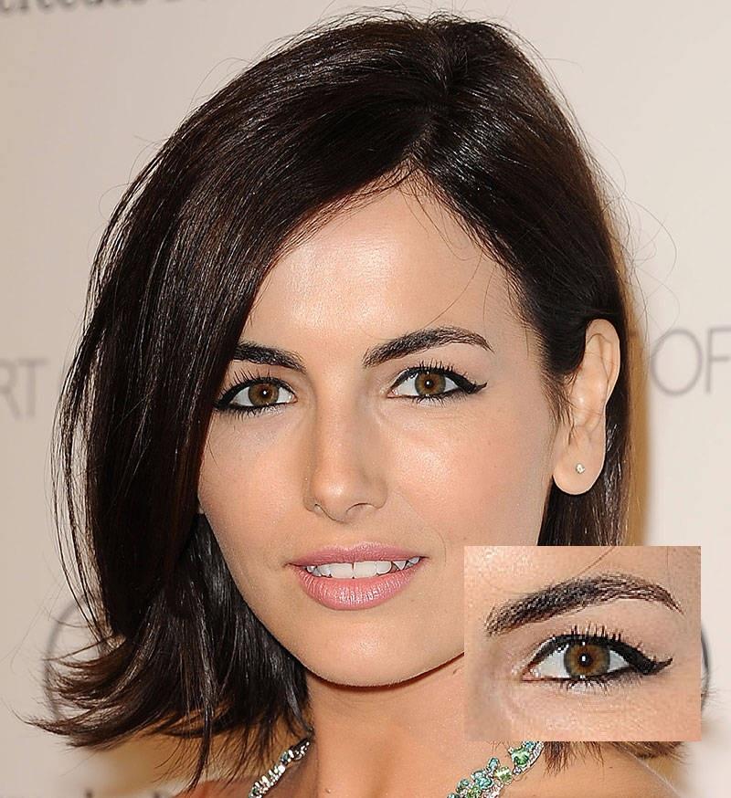 Makeup for downturned eyes